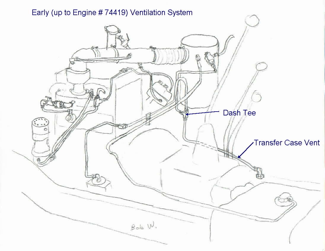 mack truck engine compartment diagram
